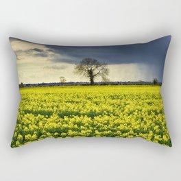 Winter Passing Rectangular Pillow