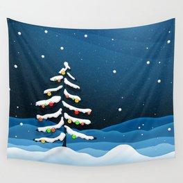 Holiday Christmas Christmas Tree Wall Tapestry