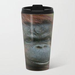 Female Orangutan Travel Mug