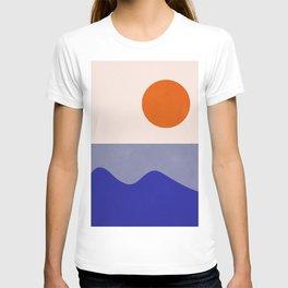 abstract minimal 50 T-shirt