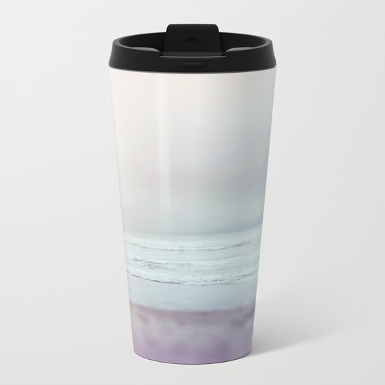 Ocean Pastel Metal Travel Mug