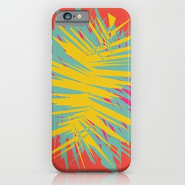 Abstract Shape Pattern iPhone Case