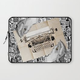 Drawing Hands and Writing Hands Laptop Sleeve