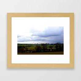 Cornwall in the Spring Framed Art Print