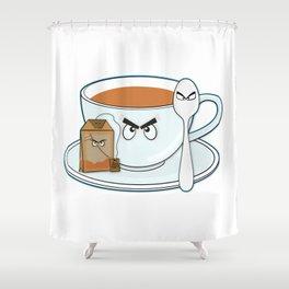 Tea fury Shower Curtain