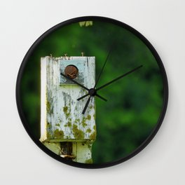 The Home is a Nest Wall Clock