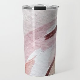 Away [2]: an abstract mixed media piece in pinks and reds Travel Mug