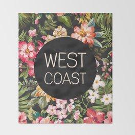 West Coast Throw Blanket