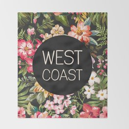 West Coast Throw Blanket