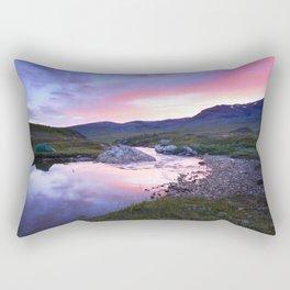 Sunset at Kungsleden Rectangular Pillow