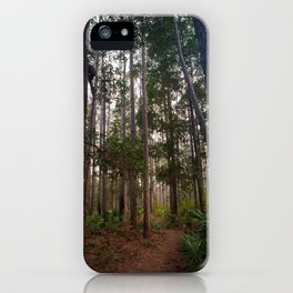 Walking Through the Tall Trees iPhone Case