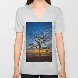 Sunburst Cottonwood 2 Unisex V-Neck