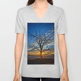 Sunburst Cottonwood 2 Unisex V-Neck