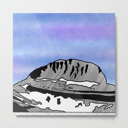 Mount Olympus Metal Print