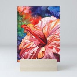 Tropical Hibiscus 2 Mini Art Print