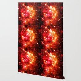 Red Orange Galaxy Nebula Wallpaper