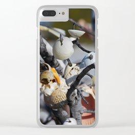 Rekindled Requiem Clear iPhone Case