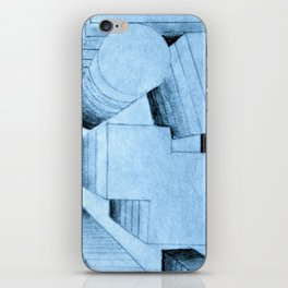 bird's-eye view iPhone Skin