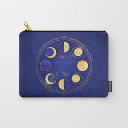 Celestial Atlas :: Lunar Phases Carry-All Pouch