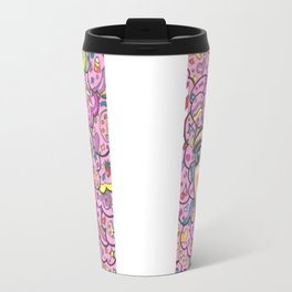 Cotton Candy Girl Doubled Travel Mug