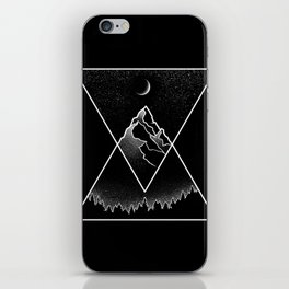 Pyramidal Peaks iPhone Skin