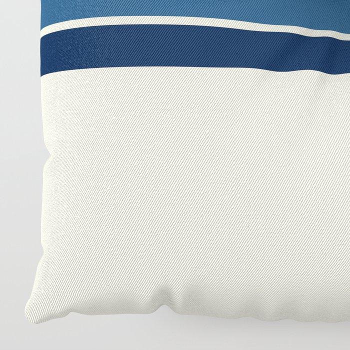 Classic Retro Stripes Floor Pillow