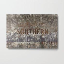 Southern Metal Print