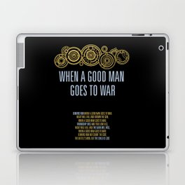 Demons Run When A Good Man Laptop & iPad Skin