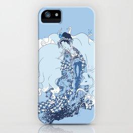 Alolan Ninetales Daji iPhone Case