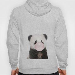 Bubble Gum Panda Bear Hoody