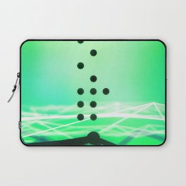 Green Abstract Passion Laptop Sleeve