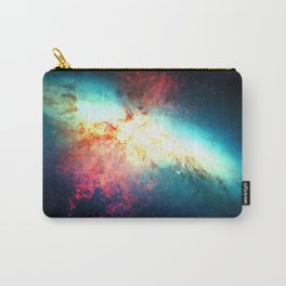 Colorful Galaxy: Messier M82 Carry-All Pouch