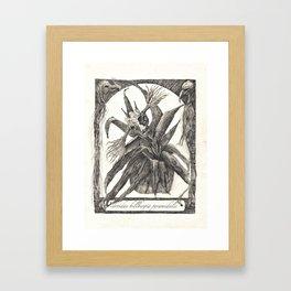 cervidae billbergia pyramidalis Framed Art Print