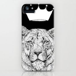 Lion Queen iPhone Case