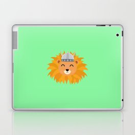 Viking lion head T-Shirt for all Ages Dsok9 Laptop & iPad Skin