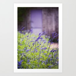 Down the garden Path, No. 1 Art Print