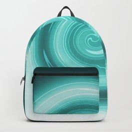 Turquoise burst Backpack