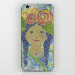 Angel Warrior Maritza iPhone Skin