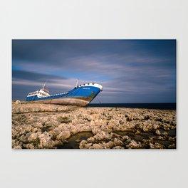 Hephaestus Shipwreck Canvas Print