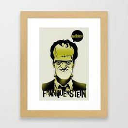 Franquenstein Framed Art Print