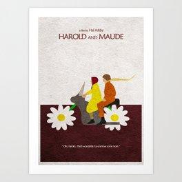 Harold and Maude Art Print