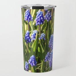 Grape hyacinths muscari Travel Mug