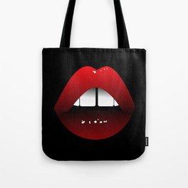 Gap toothed Goddess Tote Bag