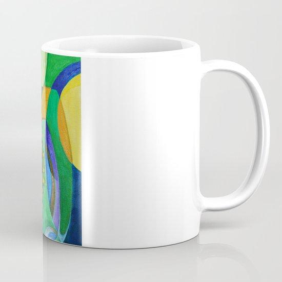 Rainbow Owl Mug