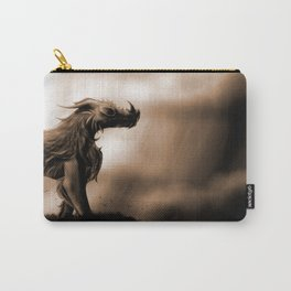 Monochromatic Beast Carry-All Pouch