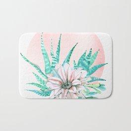 Desert Cactus Succulent Bath Mat