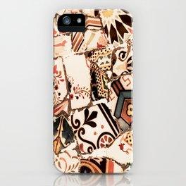 Mosaic field iPhone Case