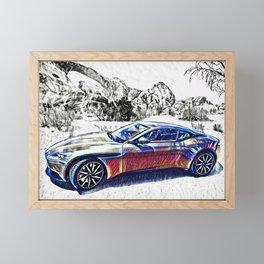 Travel In Style Framed Mini Art Print