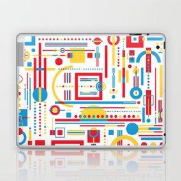 CLASH w/white Laptop & iPad Skin