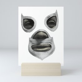 Feel-Ink Enmascarado Plata Mexican Wrestler Legend El Santo Mini Art Print